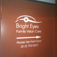 Photo taken at Bright Eyes Family Vision Care by Nathan B. on 6/8/2012