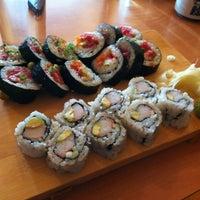 Photo taken at Sushi Yasu by Stephanie V. on 3/30/2012