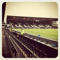 Photo taken at Craven Cottage by Michael B. on 5/7/2012