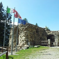 Photo taken at Fort Strino by Giulio L. on 8/14/2012