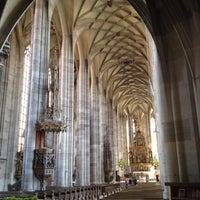 Photo taken at Münster St.Georg Dinkelsbühl by Stef J. on 4/28/2012