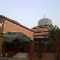 Photo taken at MASJID AS~SAJIDIN by Bob O. on 6/28/2012