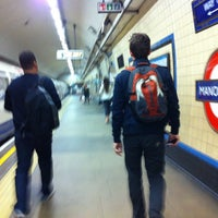 Photo taken at Manor House London Underground Station by Rhammel A. on 9/7/2012