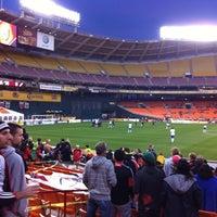 Photo taken at Robert F. Kennedy Memorial Stadium by Nidhi T. on 4/18/2012