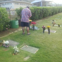 Photo taken at Diamond Head Memorial Park Cemetery by @Nacron on 6/4/2012