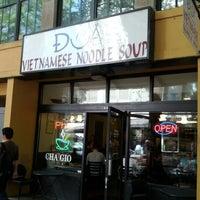 Photo taken at Dua Vietnamese Noodle Soup by Tamara J. on 4/9/2012