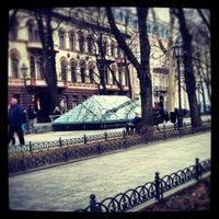 Снимок сделан в Приморский бульвар пользователем Alexey L. 3/31/2012
