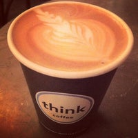 Photo taken at Think Coffee by Eric A. on 8/11/2012