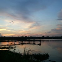 Photo taken at White Rock Lake by Elina Ji E. on 8/27/2012