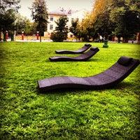 Снимок сделан в Сад «Эрмитаж» пользователем Sergei M. 9/2/2012