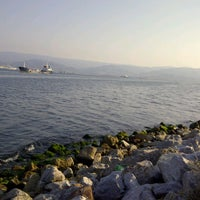 Photo taken at Plajyolu by Burak Y. on 7/21/2012