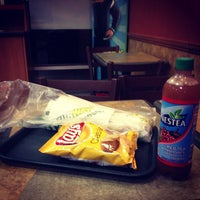 Photo taken at SUBWAY by Marcus K. on 8/27/2012