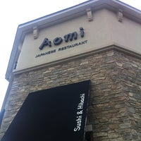 Photo taken at Aomi Japanese Steakhouse by Andrew R. on 2/29/2012