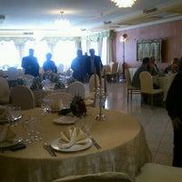 Photo taken at Hotel Leon Ristorante Al Cavallino Rosso by Alessandra L. on 2/5/2012