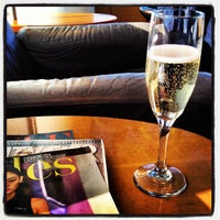 Photo taken at Air France Lounge by Nicole B. on 3/28/2012