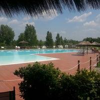 Photo taken at Piscina dei Renai by Lorenzo N. on 7/25/2012