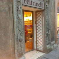 Photo taken at La Feltrinelli by Enrico C. on 4/16/2012