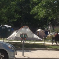 Photo taken at Occupy K St. by Kenn V. on 4/27/2012