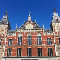 Photo taken at Amsterdam Central Railway Station by Sirleny G. on 4/22/2012