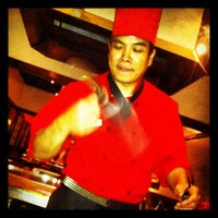 Photo taken at Tokyo Japanese Seafood Steakhouse by Kentralle G. on 4/25/2012
