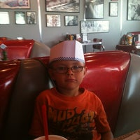 Photo taken at 5 & Diner by Amanda G. on 6/23/2012