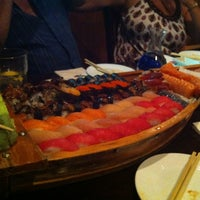 Photo taken at Sushi X: All You Can Eat Sushi by Liz C. on 8/26/2012
