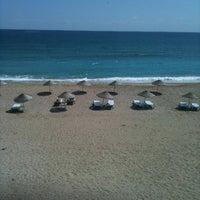 Photo taken at İğneada Plajı by Ebru D. on 9/8/2012