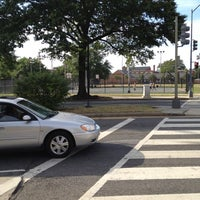 Photo taken at Shaw Basketball Court by Jerry J. on 7/11/2012