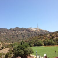 Photo taken at Hollywood Sign Vista Point by Marilena C. on 8/20/2012