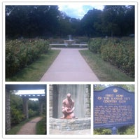 Photo taken at Loose Park by Ryan W. on 8/20/2012
