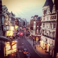 Photo taken at Shaftesbury Avenue by Neena B. on 9/3/2012
