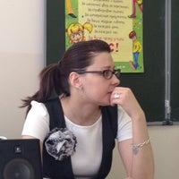 Photo taken at Гимназия № 1409 by Nikita Y. on 5/3/2012