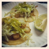 Photo taken at Taqueria El Triunfo by Melina S. on 2/21/2012