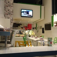 8/27/2012 tarihinde Ece Sözüdoğru .ziyaretçi tarafından Vabi Waffle & Kumpir House'de çekilen fotoğraf