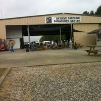 Photo taken at Skydive Carolina by Michael R. on 4/15/2012