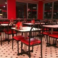 Photo taken at Steak 'n Shake by Ryan D. on 4/23/2012