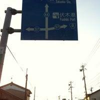 Photo taken at 野村交差点 by satoru d. on 4/23/2012