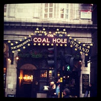 Photo taken at The Coal Hole by Steve B. on 4/4/2012