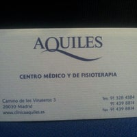 Photo taken at Aquiles by Alicia G. on 7/4/2012