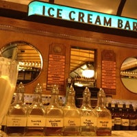 Photo taken at The Ice Cream Bar Soda Fountain by Bryan D. on 4/3/2012