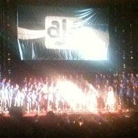 Photo taken at Cine Teatro Virgínea by Roberta A. on 4/30/2012
