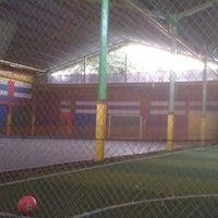 Photo taken at Arrayan Futsal by Nur Fajri A. on 6/21/2012
