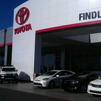 Photo taken at Findlay Toyota by Nicole H. on 7/28/2012