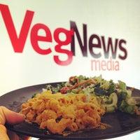Photo taken at VegNews Magazine by Whitney L. on 4/3/2012