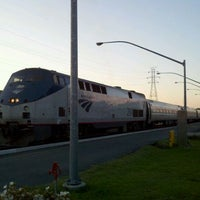 Photo taken at Richmond - Staples Mill Road Amtrak Station (RVR) by Leslie H. on 4/12/2012