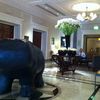 Photo taken at Hyatt Regency London - The Churchill by Priya T. on 4/2/2012