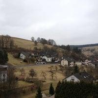 Photo taken at Gasthof Zum Spessart Mespelbrunn by Le M. on 3/13/2012