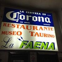 Photo taken at La Faena by Paulino A. on 3/10/2012