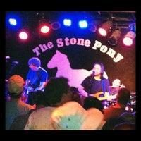 Photo taken at The Stone Pony by Lynn Z. on 5/28/2012