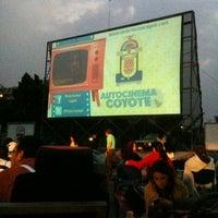 Photo taken at Autocinema El Coyote by Rokko C. on 5/7/2012